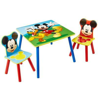 Disney Mickey Mouse Kids Table and 2 Chair Set by HelloHome