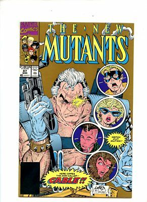 New Mutants #87 (1990) 1st Appearance Cable 2nd Print NM- 9.2