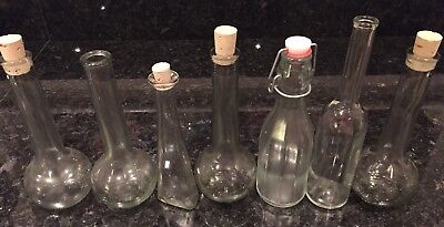 7 Conical 'type' Shaped Jars