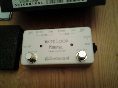 White loop minimal   one control