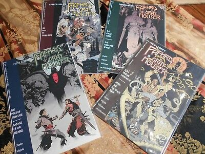 Fafhrd And The Grey Mouser, Books 1-4 , Chaykin,mignola,williamson, Epic Comics