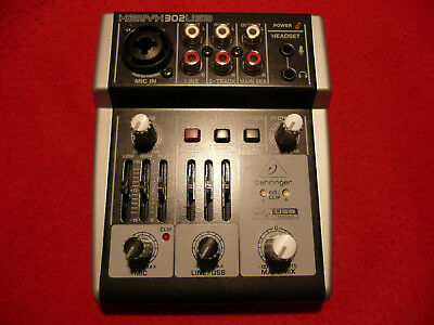 Behringer XENYX 302 USB Audio Interface