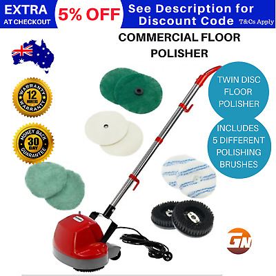 Home and Light Commercial Cleaning Floor Buffer Polisher Scrubber Machine