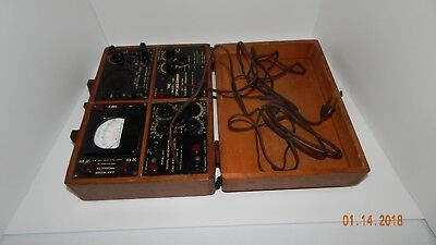 Vintage Meters Signal Generator Oak Ridge Products FOR PARTS