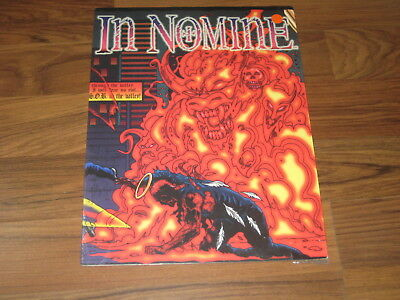 In Nomine Game Master Pack  New Sealed + Feast of Blades Steve Jackson Games
