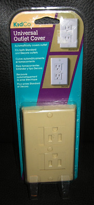 NEW KidCo Universal Outlet Cover, 1-Pack - Beige