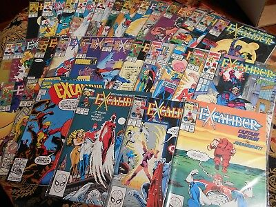 Excalibur 1-27 +3 , Marvel Comics  , Vf/nm