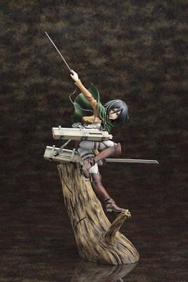 Kotobukiya Attack on Titan Mikasa Ackerman ArtFX J Statue New in Box USA Seller