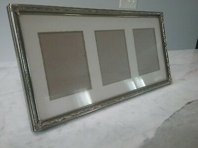 Vintage,Antique,Brass Frame, Rectangular Finding,Ornate,Victorian,