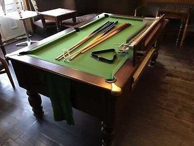 SIMPLY POOL KENSINGTON X Pool Table Dark Wood Coin Operated - Kensington pool table