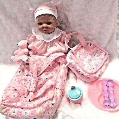 Realist Baby So Real Doll w Veins Tipped Fingers Blush Reborn OOAK or Play XTRAS