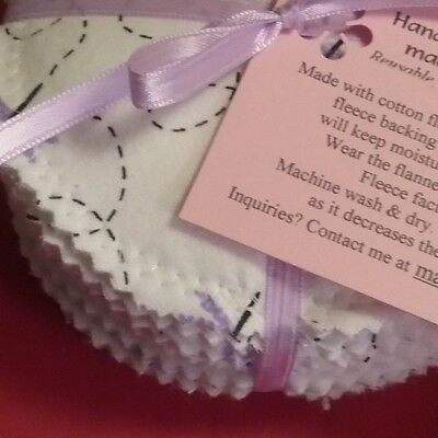12 PCS Reusable  Washable  Breastfeeding Nursing Pads ~ Made by Momma H ™