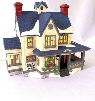 DEPT 56 NEW ENGLAND VILLAGE  Ada's Boarding House 59404 Introduced 1988  Retired