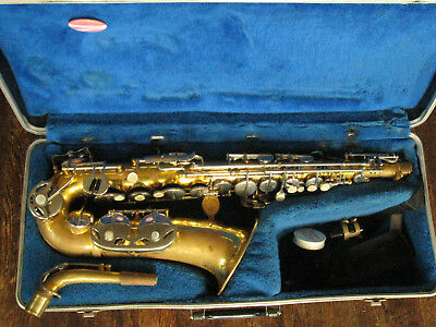 Vintage Buffet Evette & Schaeffer alto sax, playing condition!