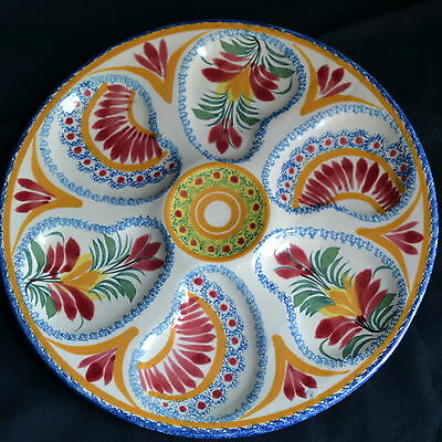 Henriot Quimper 74 - Oyster Plate - NM