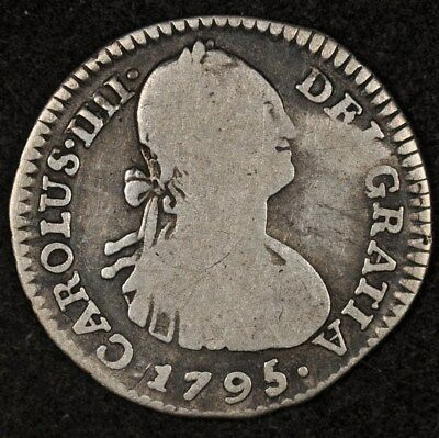 1795-Nr Jj Colombia Real Km-58 G+/vg Scarcer Date