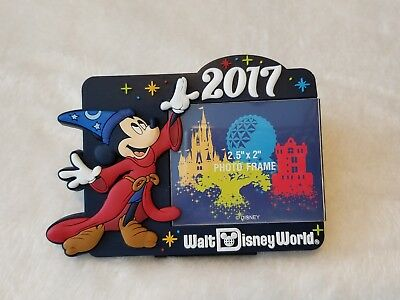 NEW Disney Parks Exclusive 2017 Sorcerer Mickey Frame
