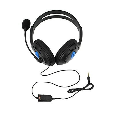 Wired Gaming Headset Headphones with Microphone for Sony PS4 PlayStation 4 RT
