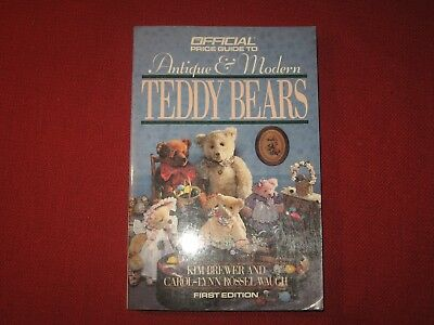 Vintage Price Guide Reference Book  Teddy Bears Dolls Antique Modern Nr