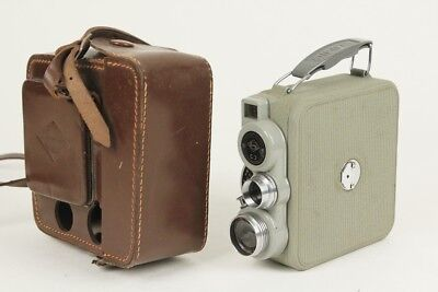 EUMIG C3, 8MM Movie Camera w/ 12.5/1.9 EUMIGON, Working meter, w/ case