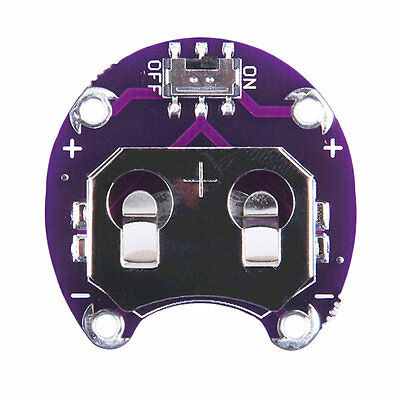Coin Cell Battery Holder For LilyPad CR2032 Battery Mount Module For Arduino RT