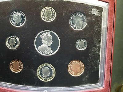 2002 UK Proof Set - Original box but no COA