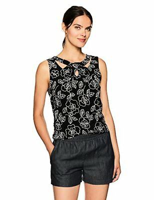 Nine West Women's Criss Cross Pattern Cami - Choose SZ/Color