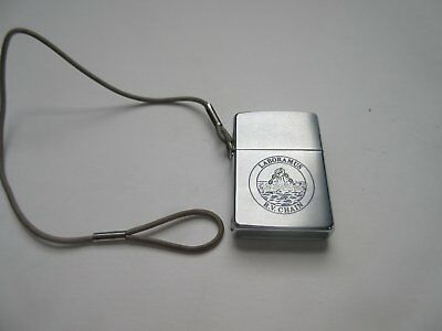 Zippo Woods Hole Oceanographic Institute Lighter R.V. Chain - Free Shipping