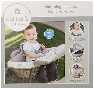 Carters Shopping cart and high chair cover