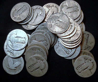 Standing Liberty Quarters - Type Examples - No Date - 45 available!