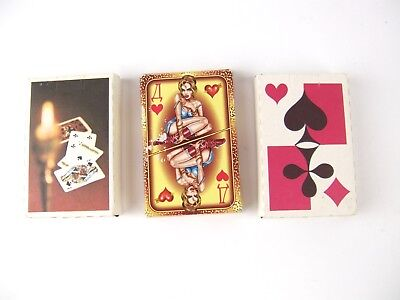3 Sets of Vintage Russian Playing Cards - Risque - 1998 - 2000 - 2 Complete