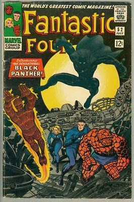 Fantastic Four #52, 1st Black Panther, Jack Kirby