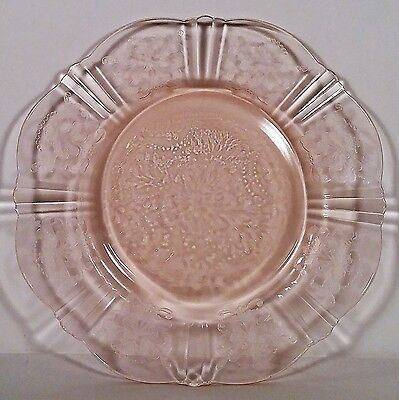 "American Sweetheart Pink 6"" Bread and Butter Plate by Macbeth-Evans Glass Co. NR"