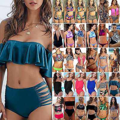 Boho Women Lady Swimwear Bikini Bra Set Monokini Tankini Swimsuit Beach Bathing