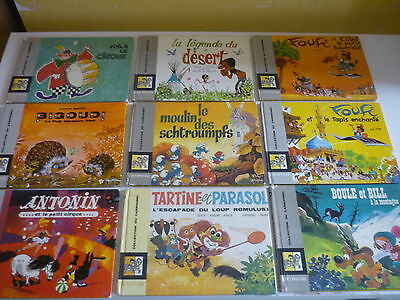 Lot de 9 Albums de la COLLECTION DU CAROUSSEL