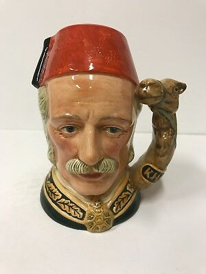 Royal Doulton Character General Gordon Large size D6869 Special Edition of 1500