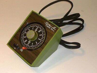 Vintage Intermatic Time all Green model E-911-11
