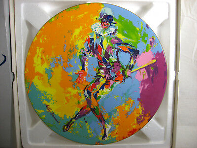 Leroy Neiman Harlequin Plate Royal Doulton Collectors Numbered Edition 1974