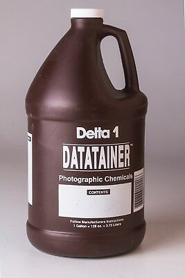 Delta 1 Datatainer Storage Bottle for Photographic Chemicals~ 1 Gallon
