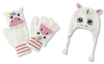 Unicorn hat and convertible gloves set super fun! Great gift idea!