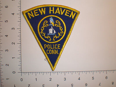 CT Connecticut New Haven police patch