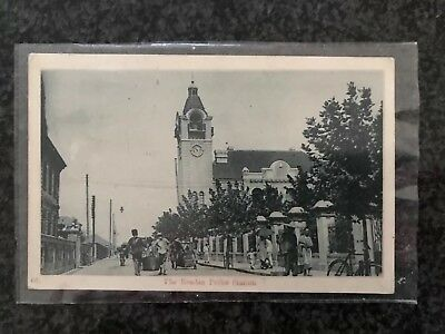 Rare Chinese post card The Russian Police Station Hankow collectable 1913 RPPC