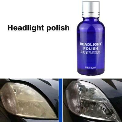 Auto Cars 9H Hardness Headlight Lens Restorer Repair Liquid Polish Cleaner 30ML