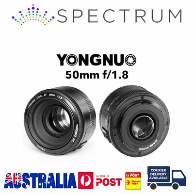 Yongnuo YN50mm F1.8 Large Aperture MF AF Auto Focus Lens For Nikon Camera AQ