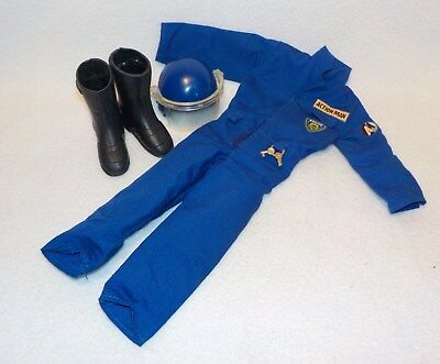 °° Action Man Police Polizei Overall Helm Outfit °°