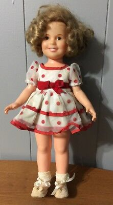 """Vintage Ideal Shirley Temple Doll 16"""""""
