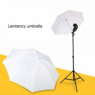 "33""/83cm Fotos Video Studio Flash Blitz Licht Regenschirm Translucent Weiß RH"
