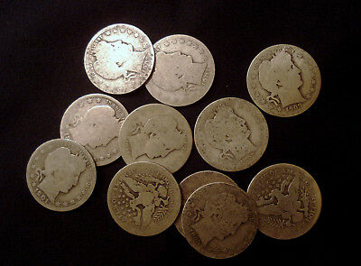 Barber Quarters - Common Dates - Type Examples