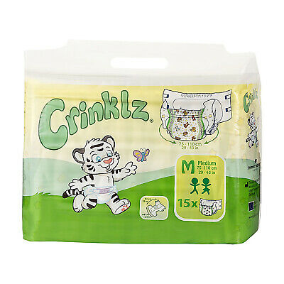 Adult Nappy / Diaper Crinklz - Medium - Pack of 15