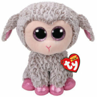 "Ty Beanie Boos Medium 9"" - Dixie The Easter Lamb Plush"
